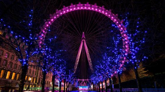 London Eye wallpaper