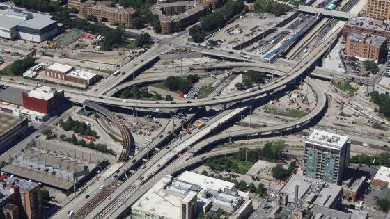 Jane Byrne Interchange, Chicago wallpaper