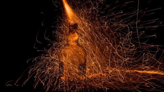 fire Diwali wallpaper