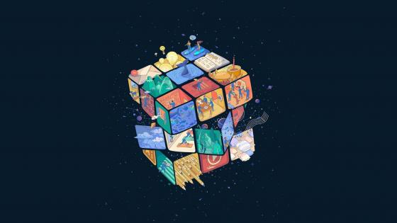 Rubik's Cube wallpaper