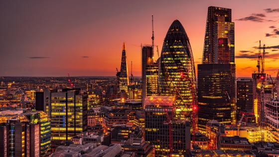 London night skyline wallpaper