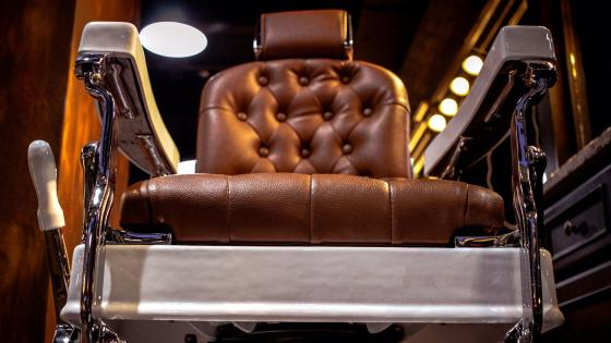 The Barber Chair wallpaper