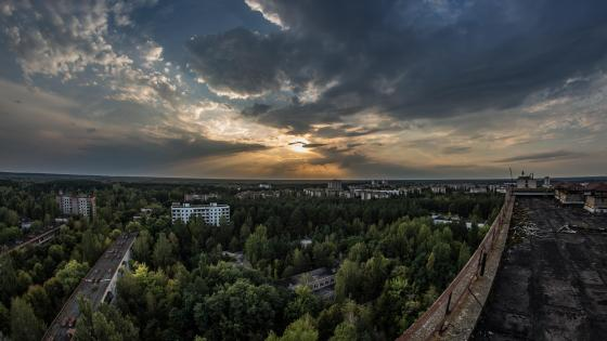 Pripyat panorama wallpaper