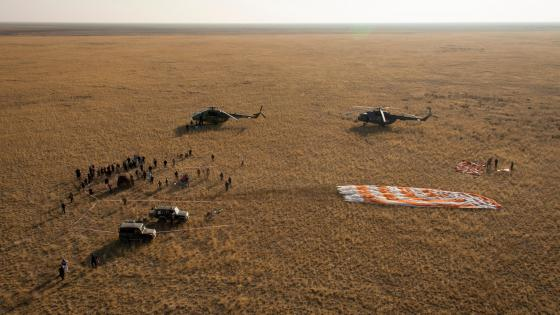 Ground Support at Expedition 40's Landing Site wallpaper