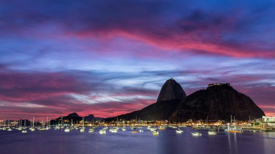 Botafogo Beach wallpaper