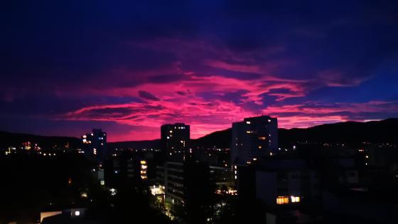 Freiburg Sunset  wallpaper