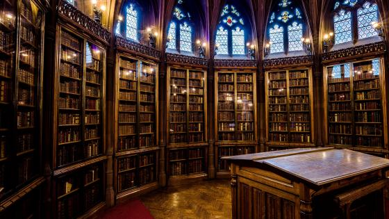 John Rylands Library wallpaper