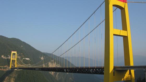 The Sidu River Bridge wallpaper