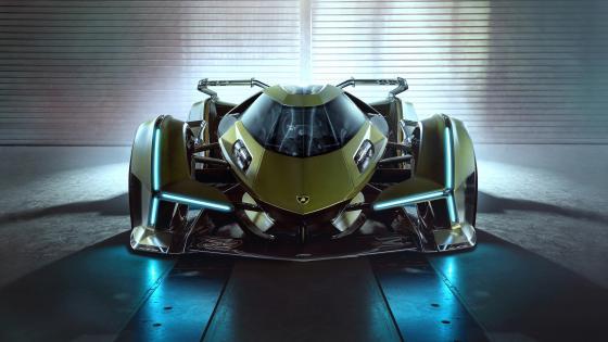 Lambo V12 Vision Gran Turismo wallpaper