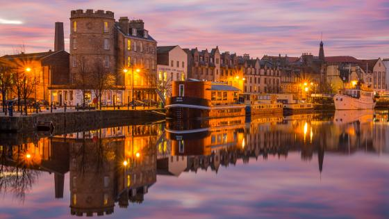 Port of Leith (Edinburgh) wallpaper