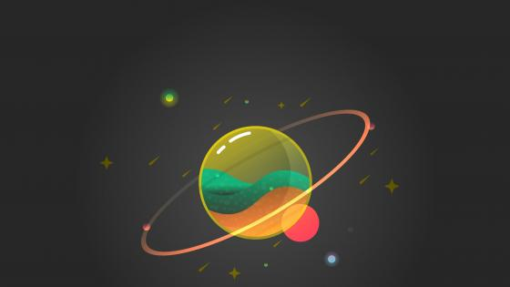 glass planet wallpaper