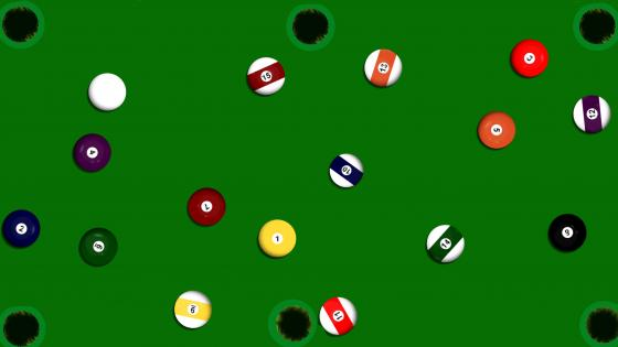 A game of pool wallpaper