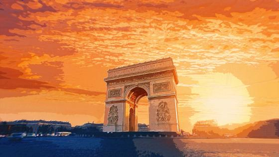 Arc de Triomphe wallpaper