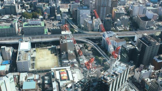 Downtown Nagoya Expressway wallpaper