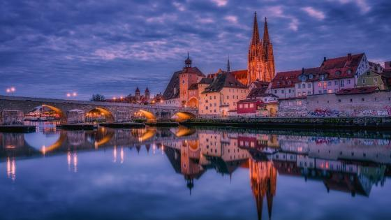 Regensburg wallpaper