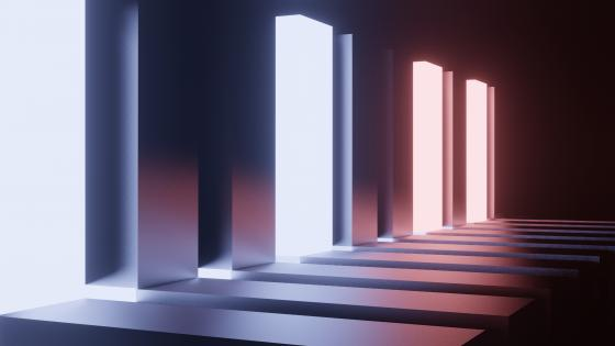 NEON BOXES wallpaper