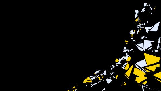 Black, white and yellow graphic design wallpaper