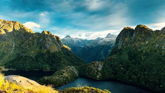 Fiordland National Park wallpaper