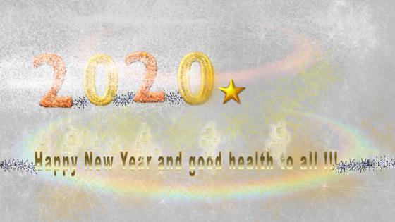 2020 New Year wallpaper