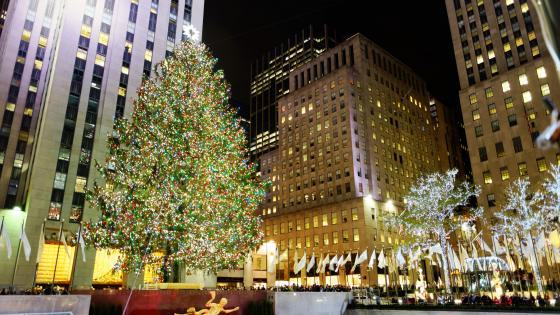 2016 Rockefeller Center Christmas Tree wallpaper