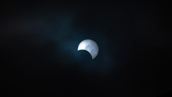 Solar eclipse of December 26, 2019 wallpaper