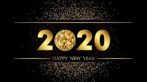 New year 2020 wallpaper