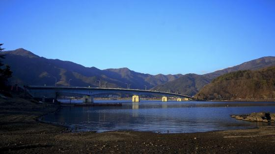 The bridge of  Japan wallpaper