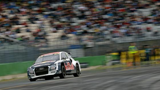 Audi S1 at World RX of Hockenheim wallpaper