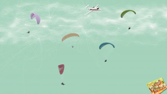 Parachutists wallpaper