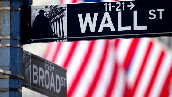 Wall Street Sign wallpaper