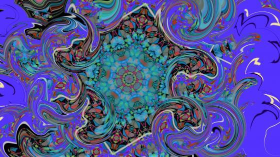 Mouvement aléatoire de couleurs wallpaper