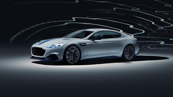 Aston Martin Rapide-E electric car wallpaper