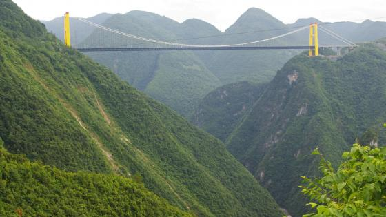The Siduhe Bridge in China wallpaper