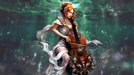 Music Under Water wallpaper