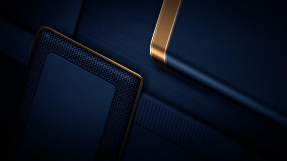 Luxury cool dark blue premium wallpaper