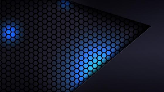 Cool dark gray & blue lightning wallpaper