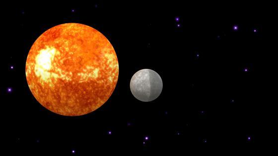 Soleil Mercury a difficult agreement wallpaper
