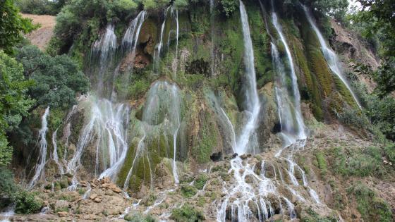 iran  Lorestan khorramabad waterfall is bisheh wallpaper