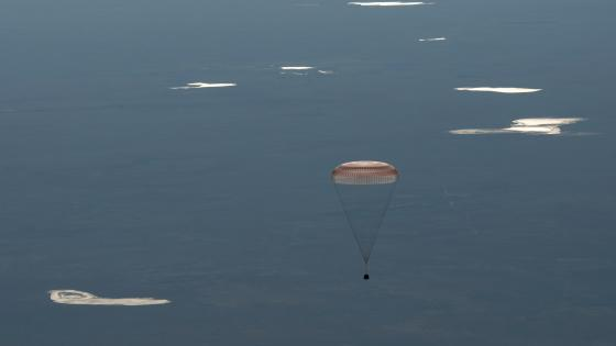 Expedition 55's Landing Aboard the Soyuz MS-07 wallpaper