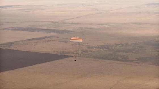 Expedition 24 Soyuz Landing wallpaper