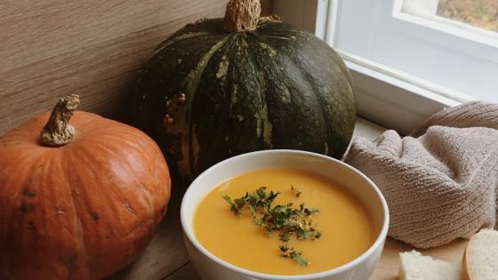 pumpkin soup wallpaper