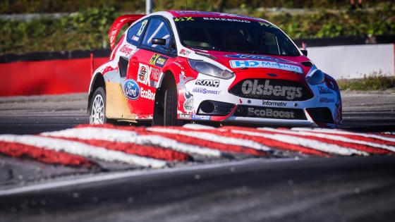 Ford Fiesta ST at Round 8 of the 2015 FIA World Rallycross Championship at Lånkebanen, Norway wallpaper