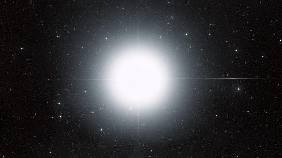 Sirius (Ground-Based Image) wallpaper