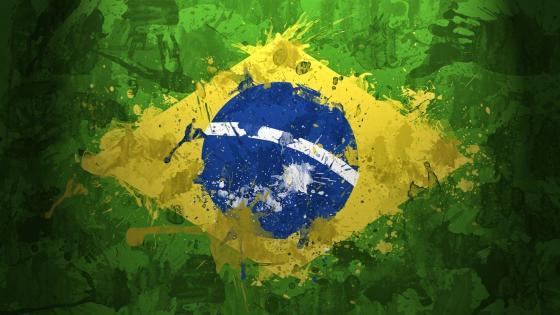 Bandeira do Brasil Arte wallpaper