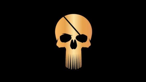 Golden pirate wallpaper
