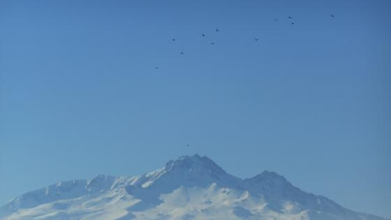 Erciyes mountain wallpaper