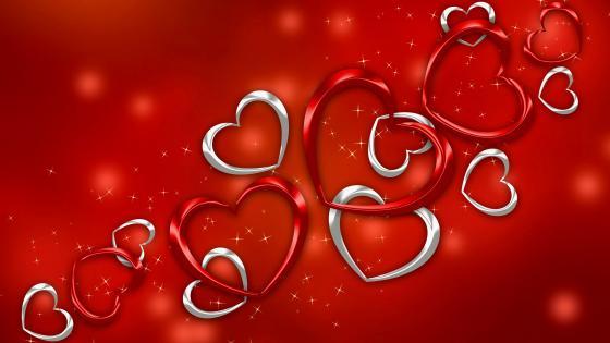 Valentines Day Love Heart wallpaper