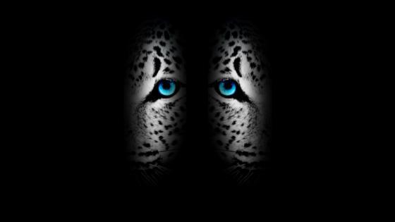 Dark-Blue abstract jaguar wallpaper