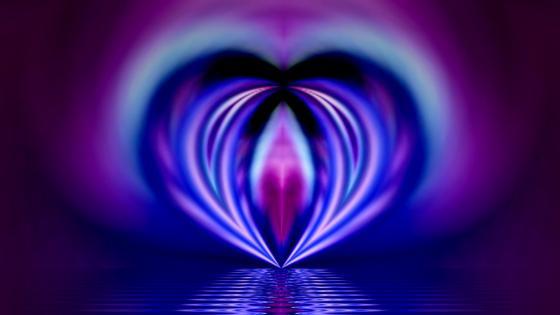 glow love wallpaper