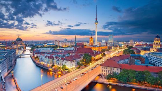 Berlin TV Tower wallpaper